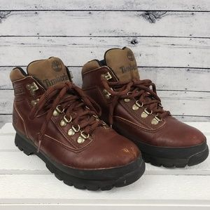 Timberland Heritage Euro Hiker Leather Mid Sz 7.5